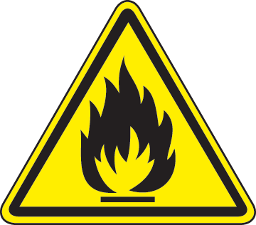 Flammable-material-hazard