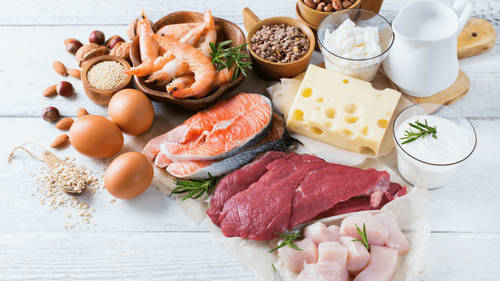Protein-rich foods image photo picture