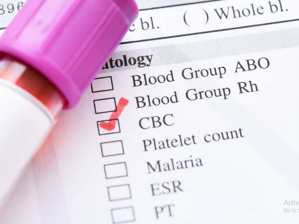 mean platelet volume test is a part of the routine CBC (complete blood count) test