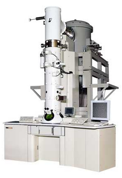 picture is a transmission electron microscope