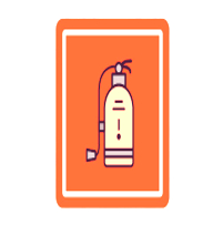 Fire Extinguisher lab symbol