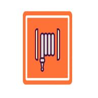 Fire Hose lab symbol