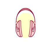 Hearing protection lab symbol