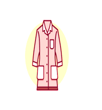 Protective Clothing lab symbol