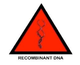 Recombinant DNA lab symbol