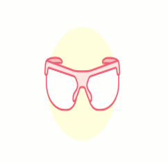 Safety Glasses lab symbol