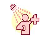 Safety Shower lab symbol