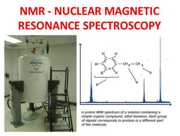 A nuclear magnetic resonance spectroscopy